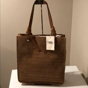 ❤️New Ugg Mae Tote Sunshine Perforated Bag